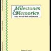 Milestones Book